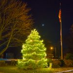 Christmas Tree on the Town Green – Madison CT